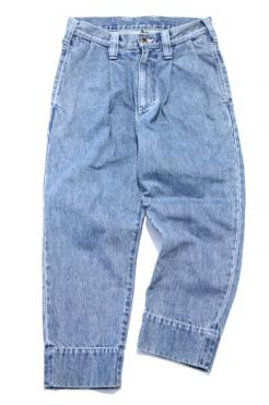 DENIM SLIM PANTS