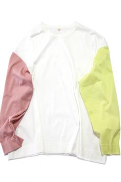3 COLLOR LONG TEE