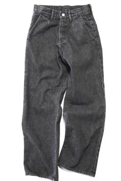 MODERATE DENIM SLACKS BK