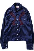 HIPSTAR SATIN SHIRT BLOUSON NV