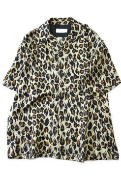 BREAKER SHIRT H/S VIOLENT LEOPARD YE
