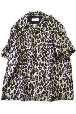 BREAKER SHIRT H/S VIOLENT LEOPARD PL